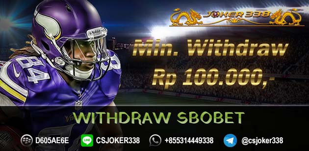 Withdraw SBOBET